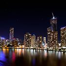 Brisbane Lights by Peter Doré