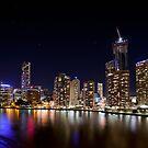 Brisbane Lights by Peter Doré