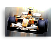 Formula One Canvas Print