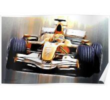 Formula One Poster