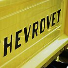 Yellow Chevrovet by KAGPhotography