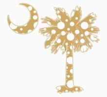 Yellow Polka Dots Palmetto Moon by PalmettoTrading