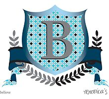 Letter B - Coat of Arms by Gloria Cortina