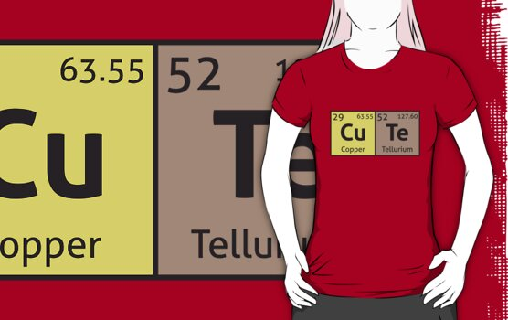 Periodic Table - Cute by destinysagent
