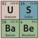 Periodic Table - US Babe by destinysagent