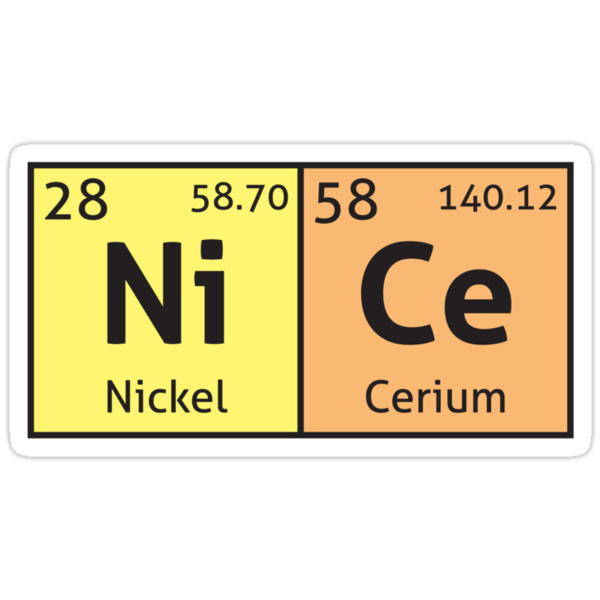 Periodic Table - Nice by destinysagent