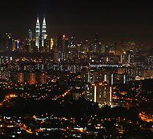 Kuala Lumpur By Night by 104paul