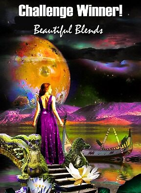 winners banner blends by Nadya Johnson