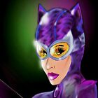 Purple Kitty by loflor73