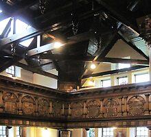 Kilbirnie Auld Kirk interior 1 by Ray Vaughan