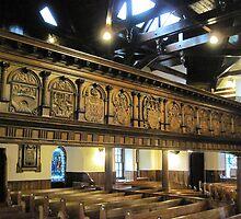 Kilbirnie Auld Kirk interior 7 by Ray Vaughan