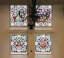 Kilbirnie Auld Kirk interior 17 by Ray Vaughan