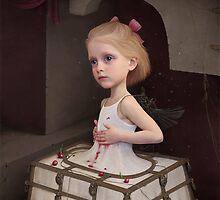 Girl in the  Iron  skirt by Larissa Kulik
