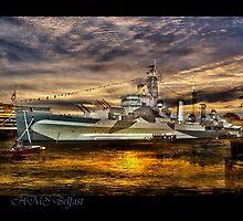 HMS Belfast by LudaNayvelt