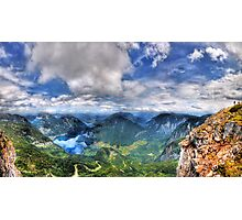 5 Fingers - Krippenstein (Austria) - 36 shot HDR Panorama Photographic Print