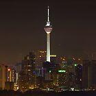 Kuala Lumpur Tower By Night by 104paul