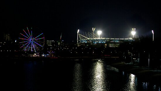 Melbourne Lights by Vince Russell