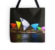 Vivid Sydney Opera House Tote Bag