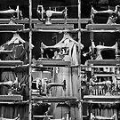 Singer sewing Machines by Victor Pugatschew