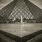 The Louvre, France by Clint Burkinshaw