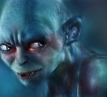 Gollum  by Amanda Ryan