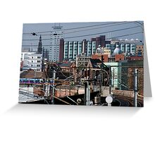 Exit - Leeds East Greeting Card