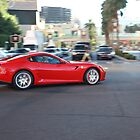 Ferrari on the Vegas Strip by perrycass