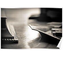 The desk Poster