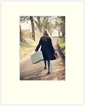 leaving by Catherine  Regan
