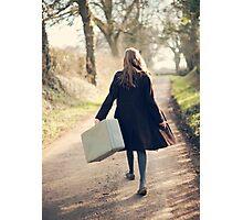 leaving Photographic Print