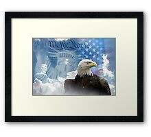 Freedom Is Not Free Framed Print
