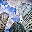 Canary Wharf And It's Competiton by FPhotographic
