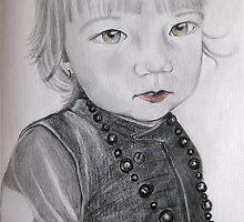 Mama's  little gorgeous girl by vickimec