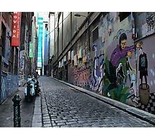 Pilgrimage Into Hosier Photographic Print