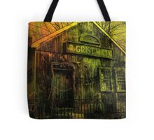 Spooky Grist Mill in Oil Tote Bag