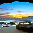 Caves Beach by Mathew Courtney