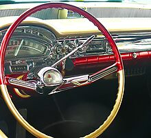 Oldsmobile Dashboard by Sharon Brown