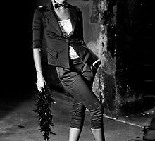 Suzette in B&W by Malcolm Katon