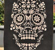 Skull Rug by Tenzing