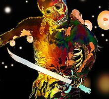 Night Street Skeleton Warrior Spirit.. by Grant Wilson