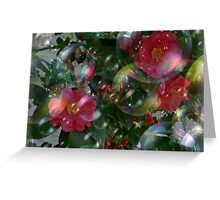 Floating Beach Plum Roses Greeting Card