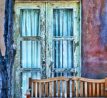 Bench WIndow-2 by Dean Tomasula