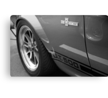 "Mustang GT 500 ""Eleanor"" Canvas Print"
