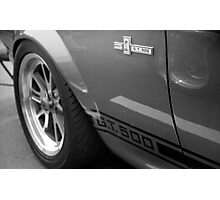 "Mustang GT 500 ""Eleanor"" Photographic Print"