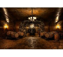 Karma Winery Cave Photographic Print
