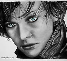 Milla Jovovich by charly
