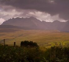 Storm over the Cuillins by butty61