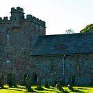 St Johns Church, Newton Arlosh. Cumbria. by Lou Wilson