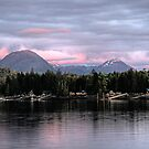 Evening Light over Pennock Island by Mike Gates