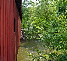 """Covered bridge from the side 2 by Scott """"Bubba"""" Brookshire"""
